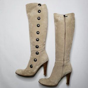 Juicy Couture Round Toe Button Boots
